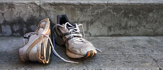 When do you need to change your running shoe?
